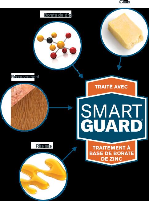 Infographie de bois SmartGuard