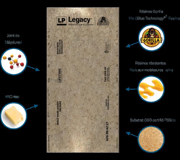 Infographie de planche Legacy